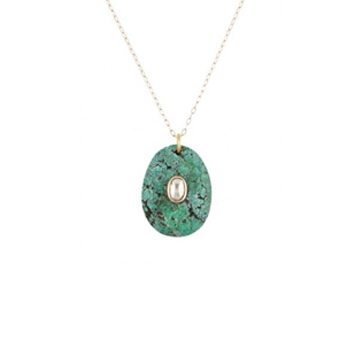 Collier orso turquoise